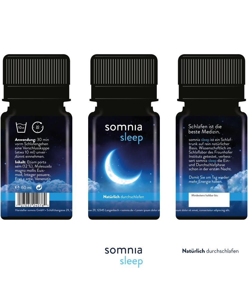 somina sleep: Flaschenansicht