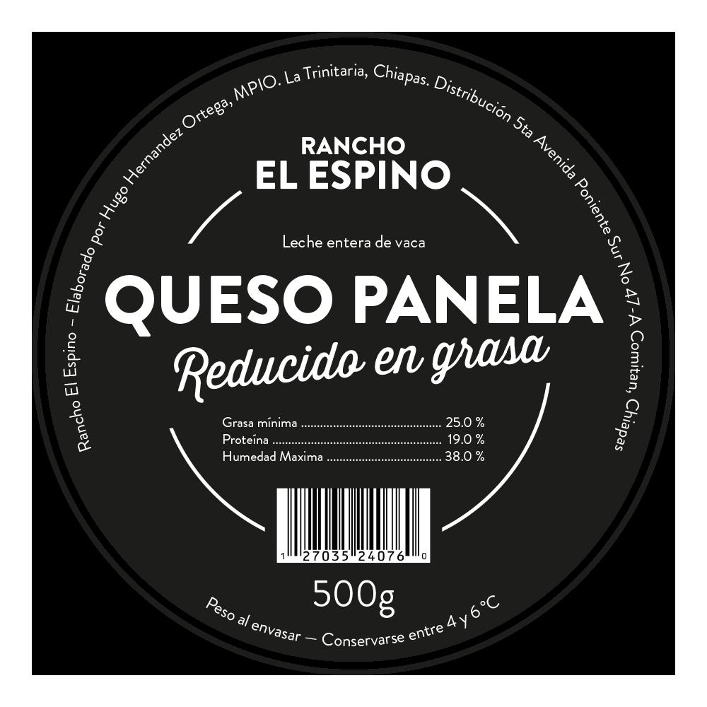 Rancho El Espino: Queso Panela Etikett